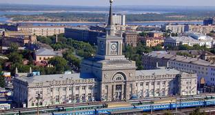 Вид на здание вокзала в Волгограде. Фото: http://rzd.ru/dbmm/images/1/5292/70701