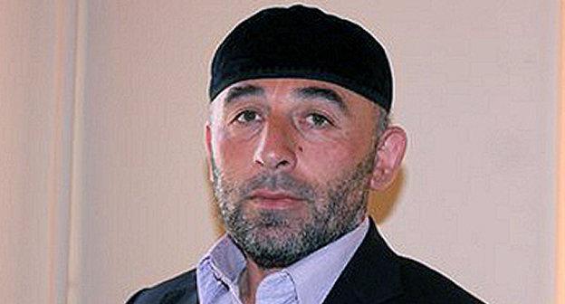 Курман-Али Байчоров. Фото: http://dumsk.com/pressa/inosmi/8110-nukhazhiev-imamu-narkotiki-podkinuli