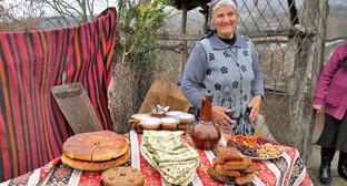 Фестиваль карабахского хлеба, запеченного в тонире. Аскеранский район, март 2014 г. Фото Алвард Григорян для «Кавказского узла»