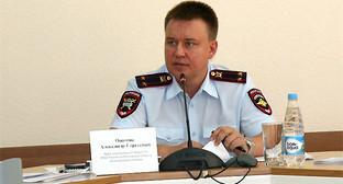 Александр Оцимик. Фото: https://www.gibdd.ru/news/61/269042/?sphrase_id=3579016
