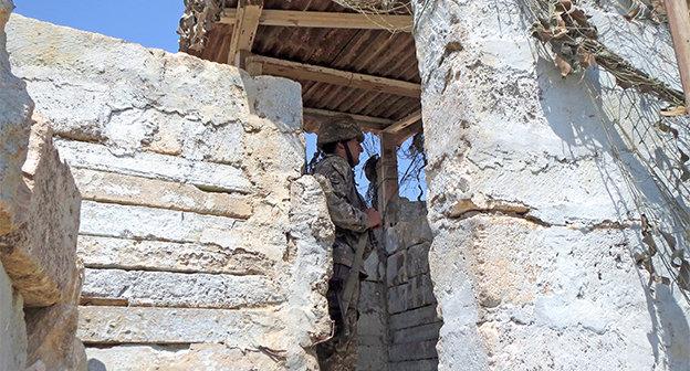 На боевых позициях в Нагорном Карабахе. Август 2014 г. Фото Алвард Григорян для «Кавказского узла»