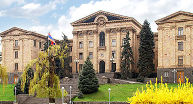 Здание Парламента Армении. Фото: http://www.parliament.am/search.php?lang=rus&what=&where=news#