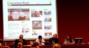 Дискуссия в рамках сессии Совета по правам человека ООН. Женева, 17 сентября 2014 г. Фото: Susan Coughtrie