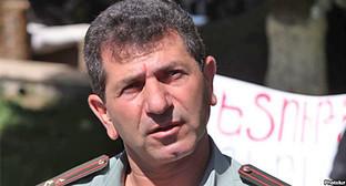 Володя Аветисян на площади Свободы, Ереван, июнь 2013 г. Фото: http://rus.azatutyun.am/content/article/25114760.html
