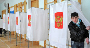 Избирательный участок в Дагестане. Фото http://www.yuga.ru/