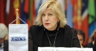 Представитель ОБСЕ по вопросам свободы СМИ Дуня Миятович. Фото: osce.org