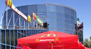 """Ресторан быстрого питания McDonald's в Волгограде. Фото Вячеслава Ященко для """"Кавказского узла"""""""