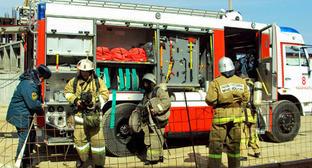 Пожарный расчет. Фото http://www.05.mchs.gov.ru/
