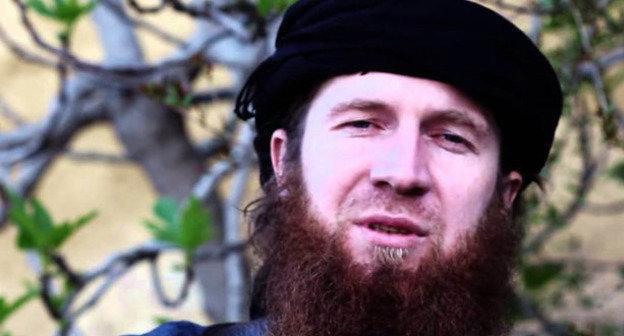 Умар аш-Шишани (Тархан Батирашвили). Фото http://www.chechensinsyria.com/?page_id=21362#jp-carousel-21342