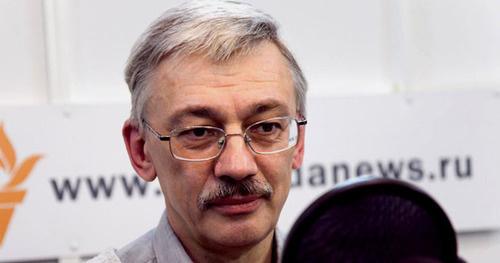 Олег Орлов. Фото: Yuri Timofeyev RFE/RL