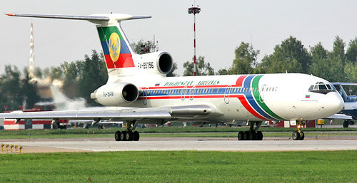 ТУ-154 Дагестанских авиалинии. Фото: Dmitriy Pichugin https://ru.wikipedia.org