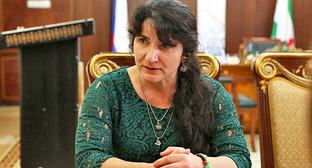 Лейла Албогачиева. Фото: Пресс-служба главы Республики Ингушетия