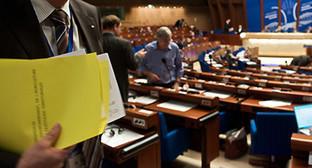 На пленарном заседании осенней сессии ПАСЕ, Страсбург, 29 Сентября-3 Октября 2014 . Фото: http://website-pace.net/en_GB/web/apce/plenary-session