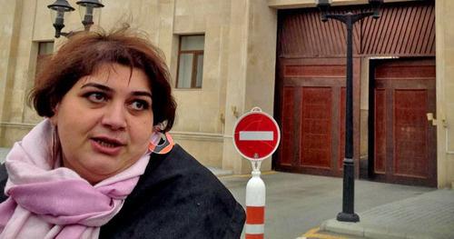 Хадиджа Исмайлова. Фото: Azadliq Radiosu (RFE/RL)