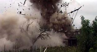 Уничтожение взрывотехниками ФСБ России взрывчатых вещества и СВУ в ходе КТО. Фото: http://nac.gov.ru/nakmessage/2014/10/07/v-dagestane-predotvrashchen-terakt-kotoryi-gotovili-bandity.html