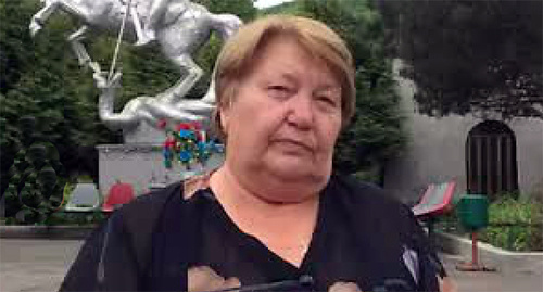 Людмила Богатенкова. Фото: http://www.svoboda.org/media/video/26554932.html