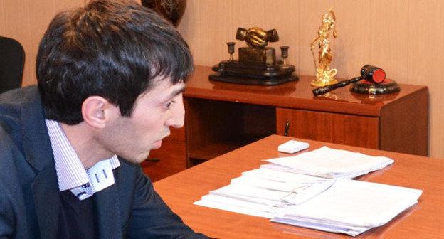 Мансур Сепиханов. Фото: официальный сайт Верховного суда Республики Дагестан http://files.sudrf.ru/