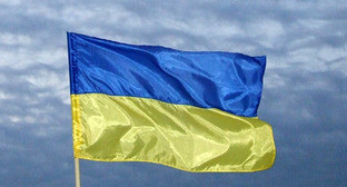 "Флаг Украины. Фото Эдиты Бадасян для ""Кавказского узла"""