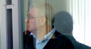 Михаил Столяров в зале суда. Астрахань, апрель 2014 г. Фото Елены Гребенюк для «Кавказского узла»