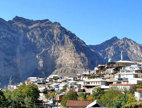 Село Гимры в Унцукульском районе Дагестана. Фото: Нурмагомед Абакаров, http://www.odnoselchane.ru/