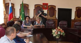 Зал Верховного суда Адыгеи. Фото: пресс-служба УФСИН России по Республике Адыгея.