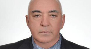 Азик Токмаков. Фото: официальный сайт парламента КБР http://www.parlament-kbr.ru/
