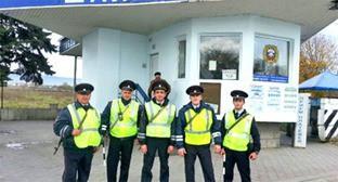 инспекторы ДПС в Кабардино-Балкарии. Фото: http://07.mvd.ru/