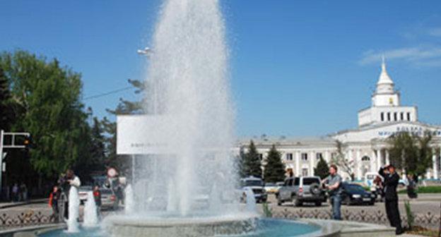 Фонтан на привокзальной площади города минеральные Воды. Фото: http://www.gorodminvody.ru/images/spr/im1.jpg