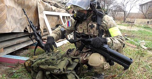 Сотрудник правоохранительных органов. Фото: Пресс-служба ГУ МВД России по СКФО