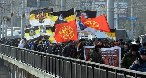 ВКонтакте заблокированы 40 групп и пабликов волгоградских националистов, готовивших шествие в марте