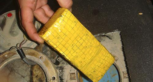 Самодельное взрывное устройство. Фото: http://nac.gov.ru/files/4320.jpg