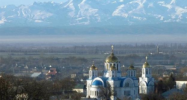 Прохладный, КБР. Фото: Prokhladniy, https://ru.wikipedia.org/wiki/%CF%F0%EE%F5%EB%E0%E4%ED%FB%E9.