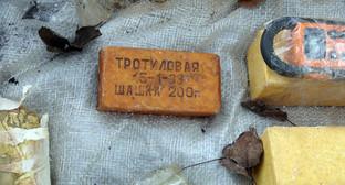 Взрывчатое вещество. Фото: http://nac.gov.ru/files/4988.JPG