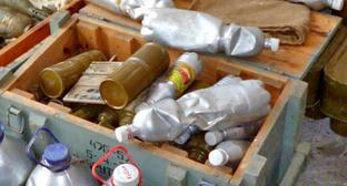 Самодельные взрывные устройства. Фото http://nac.gov.ru/