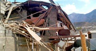 Поселок Временный после проведения КТО. Фото: Ахмед Набиев http://gimry.ucoz.com/