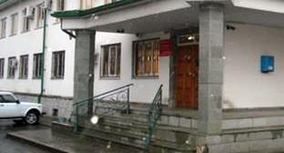 Здание суда города Нальчик. Фото: http://nalchiksky.kbr.sudrf.ru/