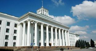 Парламент Кабардино-Балкарской Республики. Фото: Министерство экономического развития Кабардино-Балкарской Республики http://economykbr.ru/info/7455/