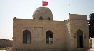 Здание мечети. Фото: RFE/RL http://www.radioazadlyg.org/content/article/26711256.html