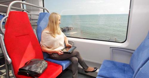 "Электропоезд ""Ласточка"". Фото http://www.rzdtv.ru/"