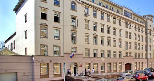 Здание замоскворецкого суда Москвы. Фото http://zamoskvoretsky.msk.sudrf.ru/