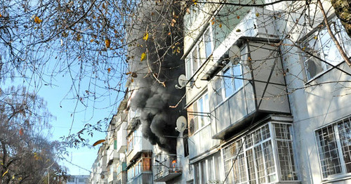 На месте проведения КТО в Нальчике. 11 декабря 2014 г. Фото http://nac.gov.ru/. новости дагестана последние