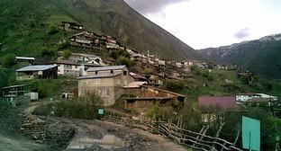 Дорога в Цунтинском районе Дагестана. Фото: http://www.odnoselchane.ru/?page=photos_of_category&sect=1403&com=photogallery