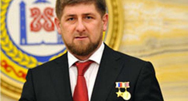 Рамзан Кадыров. Фото: http://www.grozny-inform.ru/main.mhtml?Part=8&PubID=56441