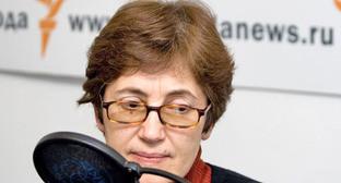 Наталья Зубаревич. Фото: RFE/RL