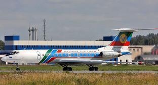 Самолет Дагестанских авиалиний Tу-134B-3. Фото: Igor Dvurekov http://commons.wikimedia.org/