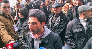 Акция против подорожания товаров. Ереван, 18 декабря 2014 г. Фото http://www.tert.am/ru/