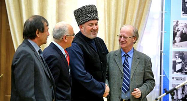 Участники конференции. Фото: Казбека Вахаева, http://www.grozny-inform.ru/main.mhtml?Part=26&PubID=56533