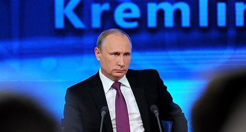 Пресс-конференция Владимира Путина. Фото: http://www.kremlin.ru/news/47250