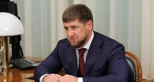 Р.А, Кадыров. Фото: http://archive.government.ru/docs/17376/photolents.html
