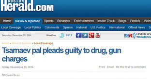 Скрин-шот страницы сайта BostonHerald.com, освещающего судебный процесс по делу Джохара Царнаева. Фото: https://bostonherald.com/